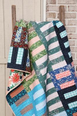 Roman Stripe (free quilt)